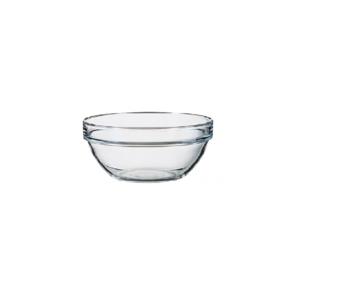 Glasschale Ø 6 cm / 3,5 cl stap. EMPILABLE