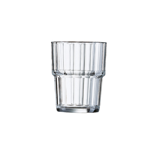 Glasbecher 20 cl stapelbar NORVEGE